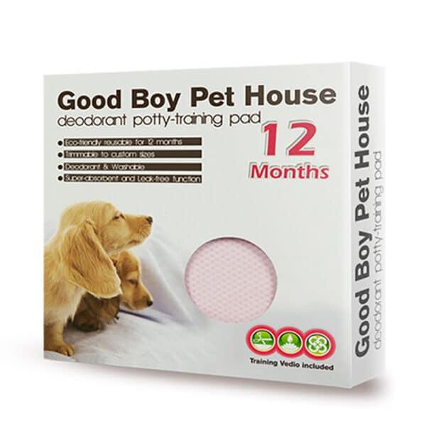 寵物除臭尿布墊-粉紅