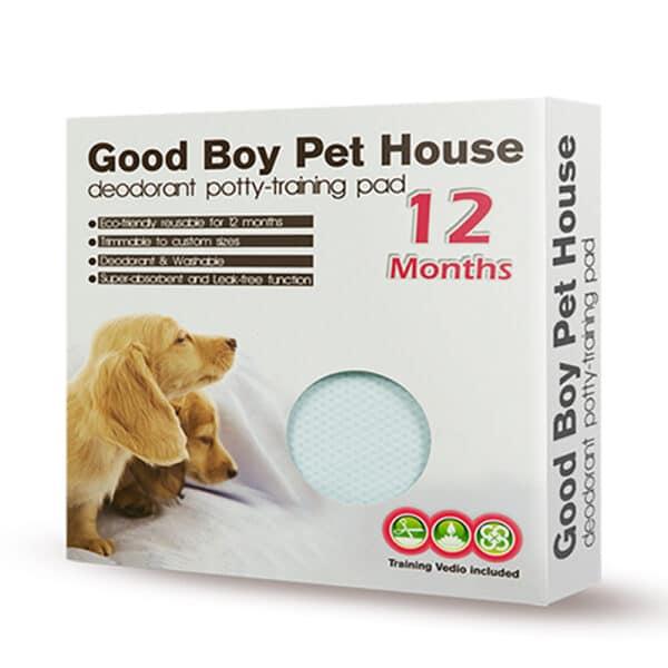 寵物除臭尿布墊-粉藍